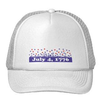 Celebrate July 4th Mesh Hat