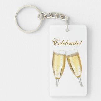 Celebrate Key Chain