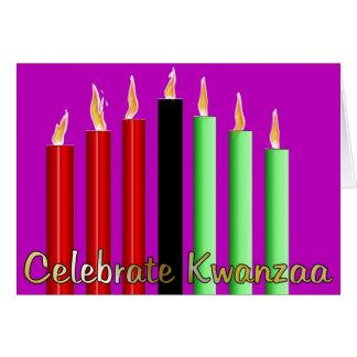 Celebrate Kwanzaa Card