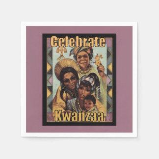 Celebrate Kwanzaa Kwanzaa Party Paper Napkins