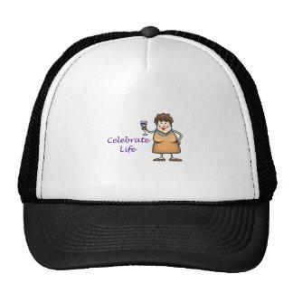 Celebrate Life Mesh Hats