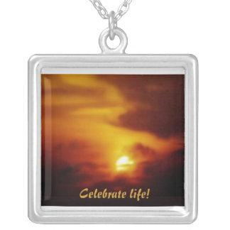 Celebrate life Sunrise Pendant