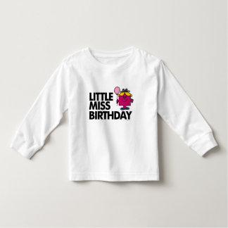 Celebrate Little Miss Birthday Toddler T-Shirt