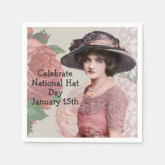 Celebrate National Hat Day | January 15th Disposable Serviettes