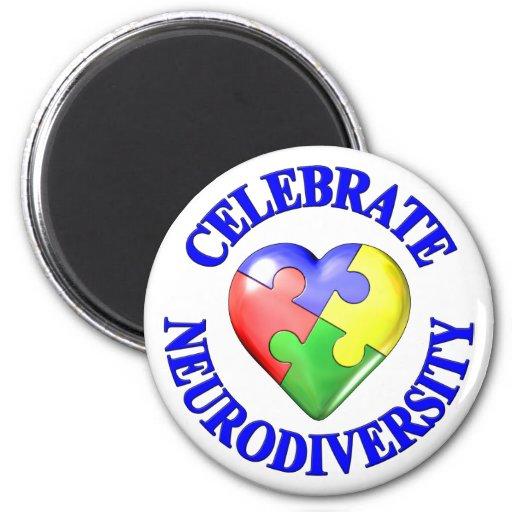 Celebrate Neurodiversity Fridge Magnets