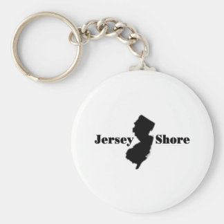 Celebrate New Jersey Basic Round Button Key Ring