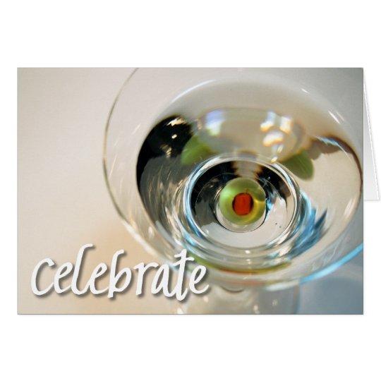 Celebrate notecard