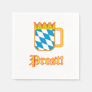 Celebrate Oktoberfest! Prost! Disposable Napkin