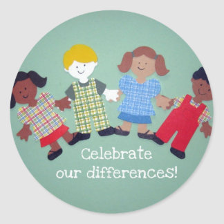 Celebrate Our Differences! Sticker