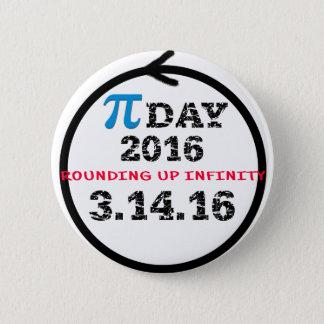 Celebrate Pi Day 6 Cm Round Badge