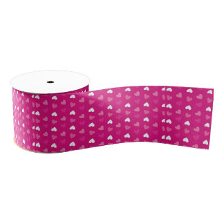 Celebrate Pink event Grosgrain Ribbon