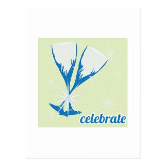 Celebrate Post Card