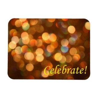 Celebrate Rectangle Magnet