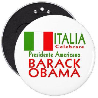 CELEBRATE President Obama Inauguration Keepsake 6 Cm Round Badge