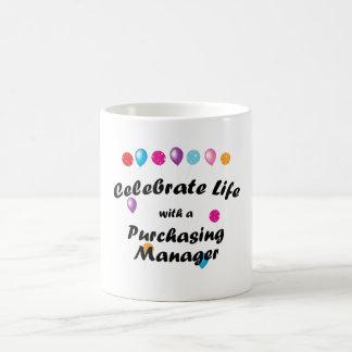 Celebrate Purchasing Manager Basic White Mug