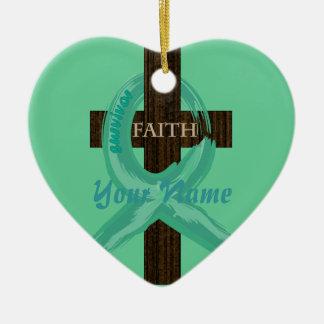 Celebrate Survival - Thanks Be To God! Ceramic Heart Decoration