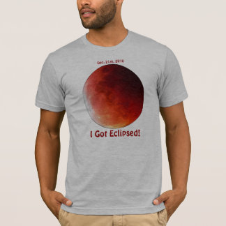 Celebrate the 2010 Lunar Eclipses Tee Shirt