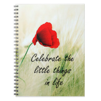 """Celebrate the Little Things"" Personal Journal"
