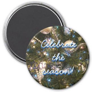 Celebrate the Season Christmas Magnet