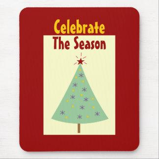 Celebrate The Season Holiday Mousepad