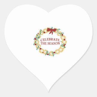 Celebrate The Season Sticker