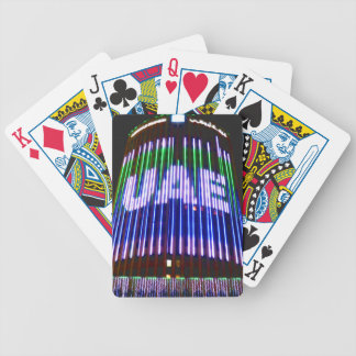 Celebrate the UAE Bicycle Playing Cards