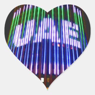 Celebrate the UAE Heart Sticker