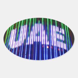 Celebrate the UAE Oval Sticker