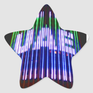 Celebrate the UAE Star Sticker
