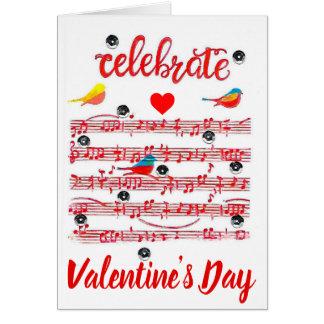 Celebrate Valentine's Day Card