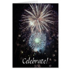 Celebrate With Fireworks! Card