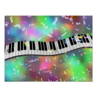 Celebrate with Music Poster