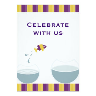 Celebrate with us 13 cm x 18 cm invitation card