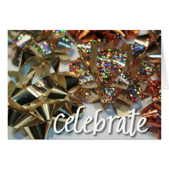 Celebrate your day! card