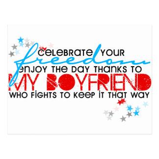 Celebrate your freedom postcard