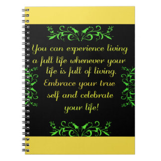 Celebrate Your Life 2 Notebooks