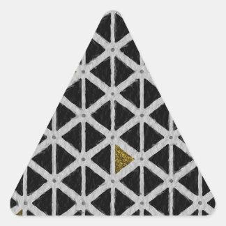 Celebrated Polite Celebrated Romantic Triangle Sticker