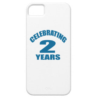 Celebrating 02 Years Birthday Designs Barely There iPhone 5 Case