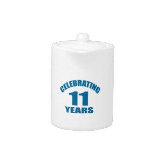 Celebrating 11 Years Birthday Designs