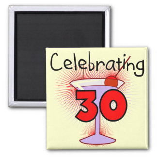 Celebrating 30 Tshirts and Gifts Square Magnet