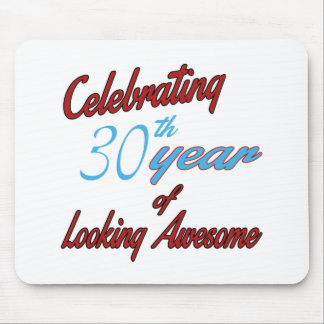 Celebrating 30 year of Looking Awesome Mouse Pad