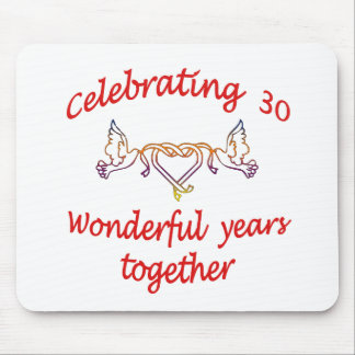 CELEBRATING 30 YEARS MOUSE PAD