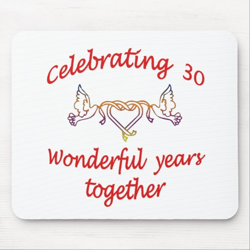 CELEBRATING 30 YEARS MOUSE PADS