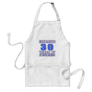 Celebrating 30 years of awesomeness apron