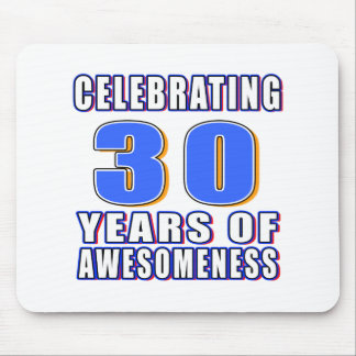 Celebrating 30 years of awesomeness mouse pad