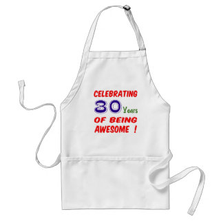 Celebrating 30 years of being awesome ! aprons