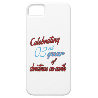 Celebrating 3rd year of christmas on earth iPhone 5 cases