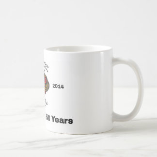 Celebrating 50 years coffee mug
