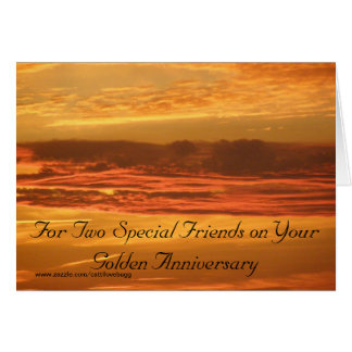 Celebrating 50 Years Together Card