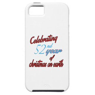 Celebrating 52nd year of christmas on earth iPhone 5 covers